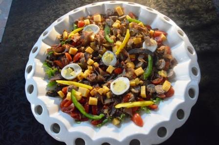Biltong and Boerewors Salad